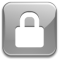 Crystal Clear action lock-silver.png